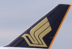 Singapore Airlines tail
