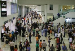 aeropuerto mucha gente