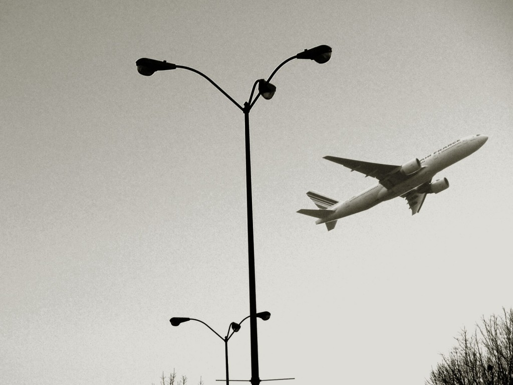 despegue avión bn