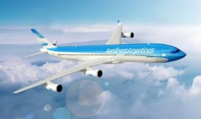 Aerolíneas Argentinas A340 nueva imagen
