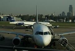 Aeroparque A320 y MD88