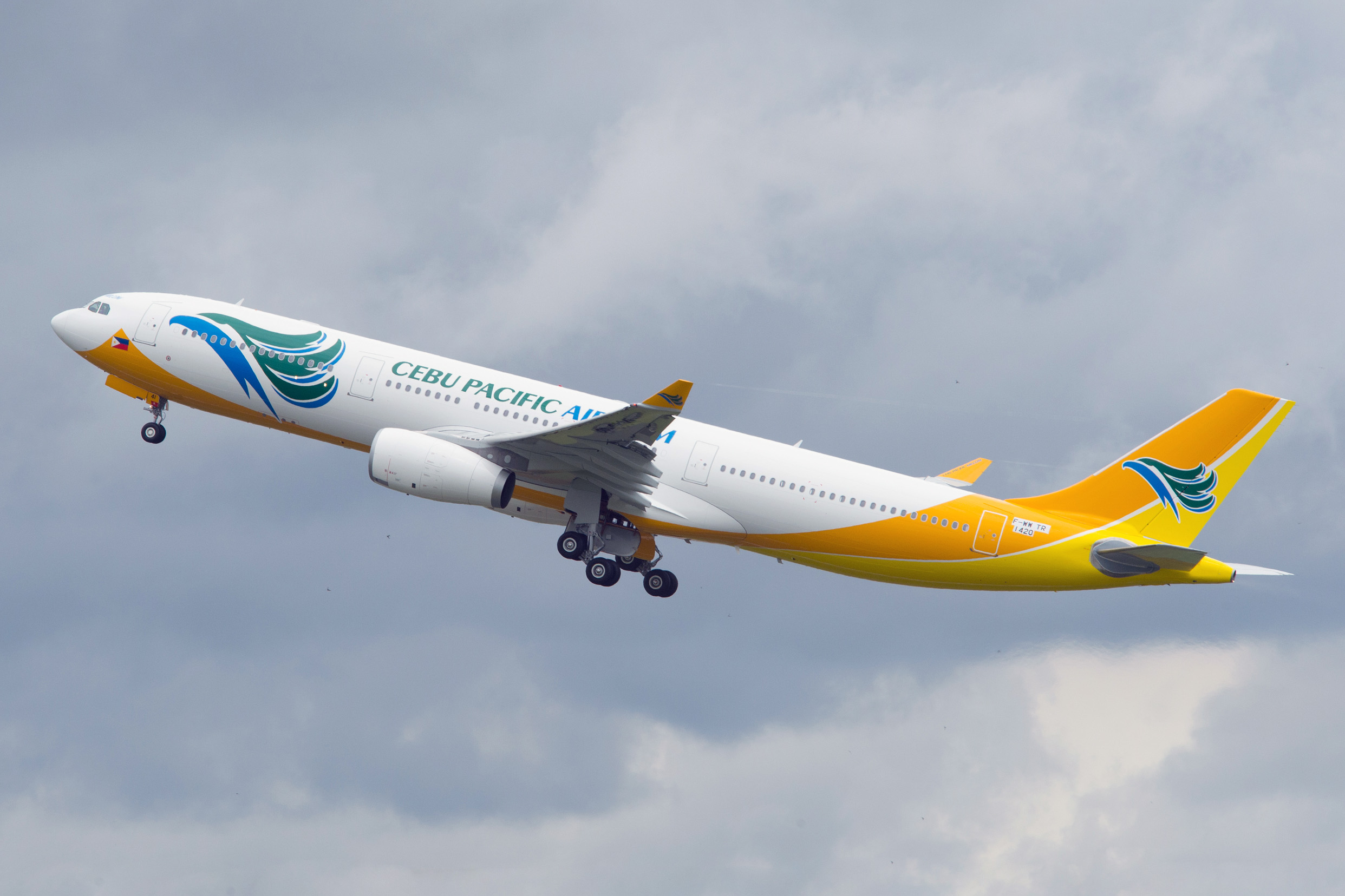 Cebu Pacific recibe su primer A330-300