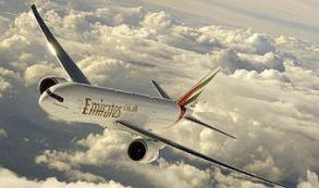 Pedida de mano surcando el cielo a bordo de Emirates