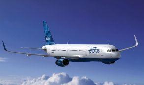 La aerolínea JetBlue registra 24,6 millones de pasajeros de enero a agosto