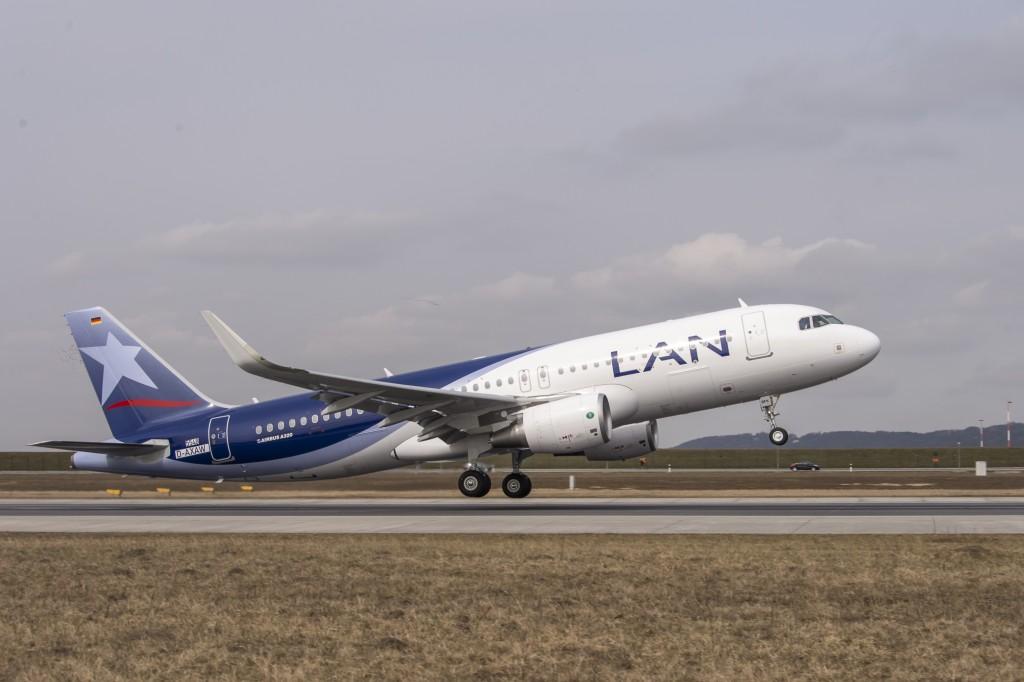 La nueva ruta de Lan en Chile