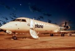 Pluna CRJ900 CX-CRB noche