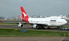 Hallan culebra en avión de la aerolínea Qantas