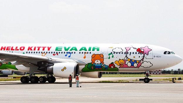 Los aviones de Hello Kitty conquistarán nuevos aires