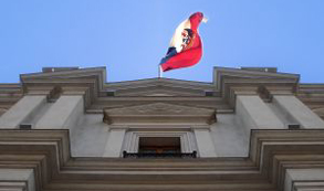 Interior evalúa acciones contra sujeto que estrelló su dron en La Moneda