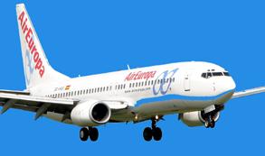 Air Europa abrira vuelos entre Madrid e Iguazú, vía Río de Janeiro