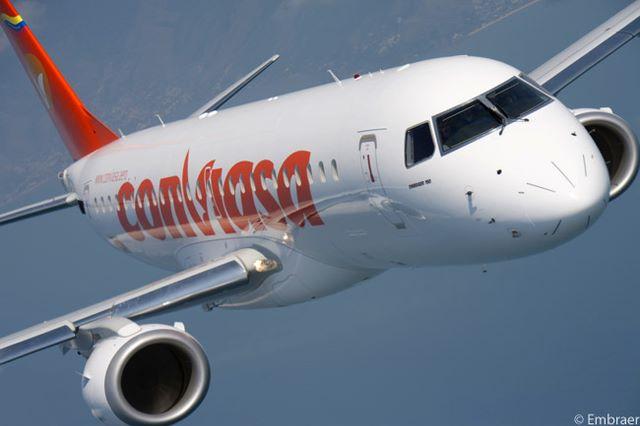 Venezuela: Conviasa ha reducido sus vuelos diarios de 20 a 16