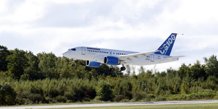 Primer vuelo del Bombardier CSeries, un nuevo competidor para Airbus y Boeing
