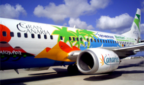 La aerolínea Binter Canarias se 'cuela' en el Top 5 del ranking de las mejores aerolíneas europeas de eDreams