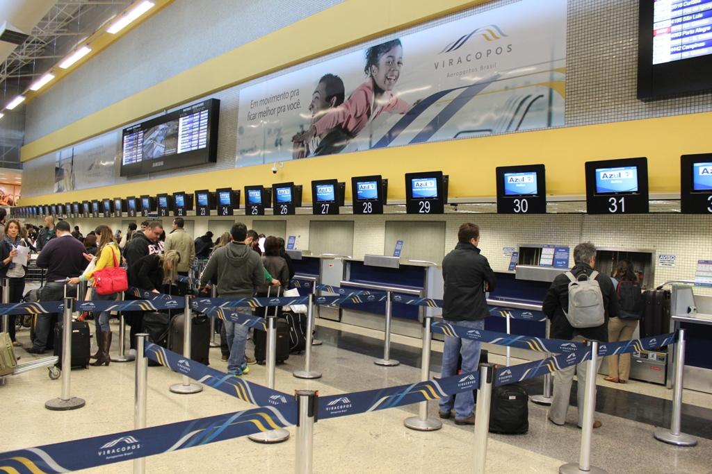 Viracopos apresenta crescimento no número de passageiros em março
