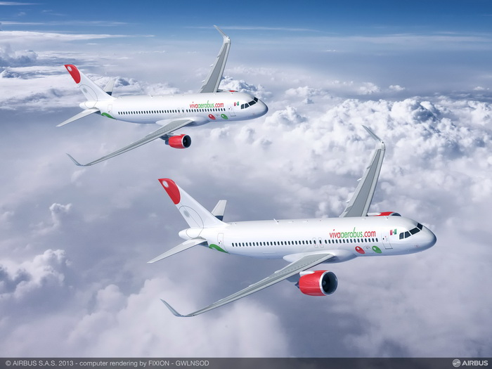 "VivaAerobus, Mexico""™s Ultra Low Cost Carrier, awards AJW Aviation an eight year power-by-the-hour agreement for its new fleet of fifty two A320s"