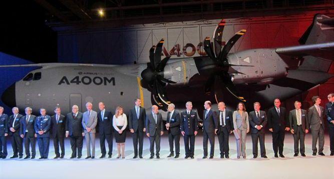 Airbus Military celebra primera entrega de su A400M a la Fuerza Aérea Francesa