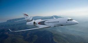 Dassault Aviation presentó el Falcon 5X, el último producto de la familia Falcon
