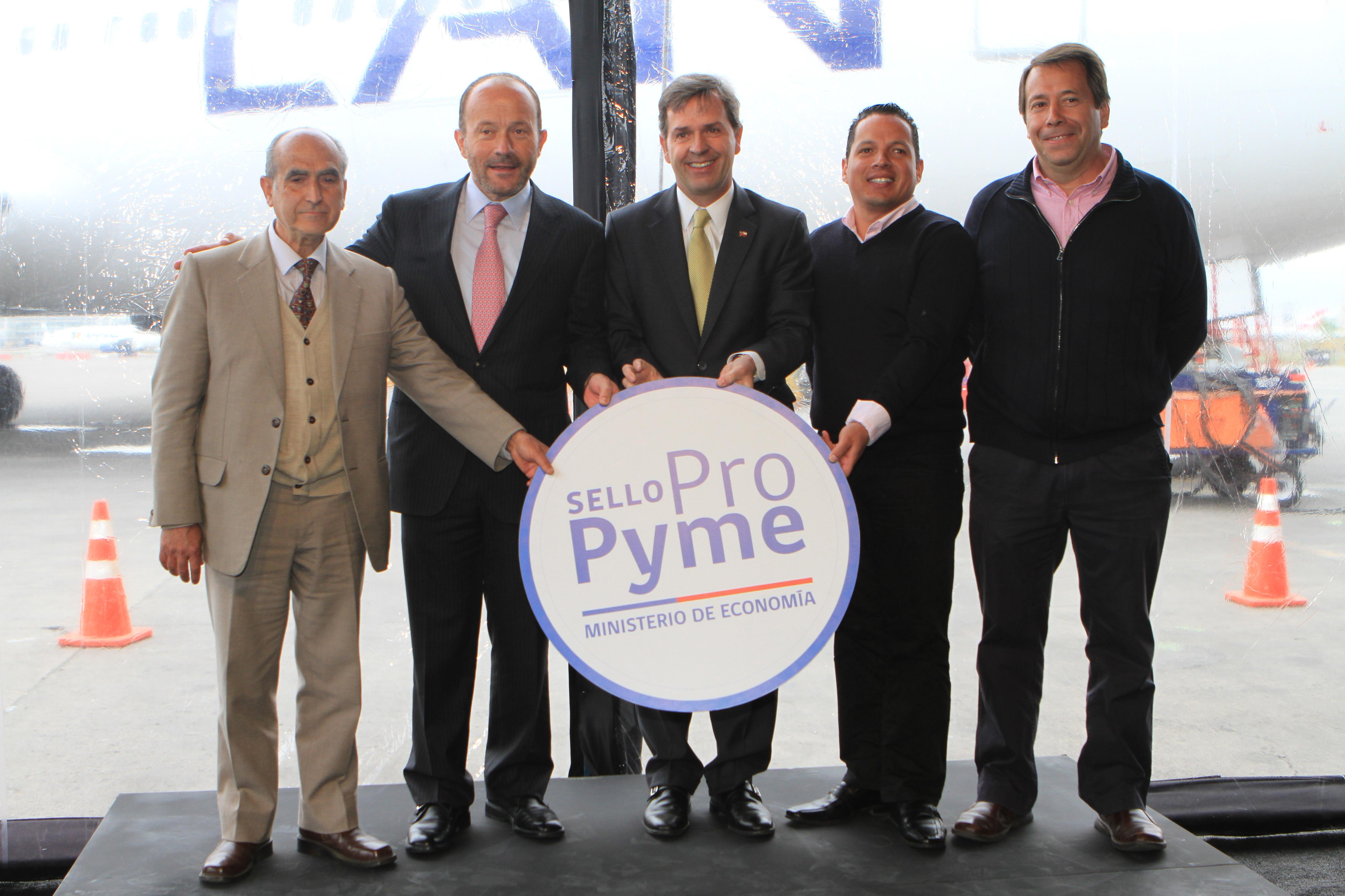 Chile: LAN se suma al Sello ProPyme comprometiéndose con sus pequeños proveedores nacionales