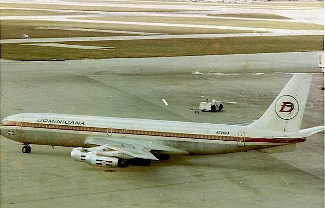 Compañía Dominicana de Aviación- cda Línea Bandera de la República Dominicana 43 años de ausencia