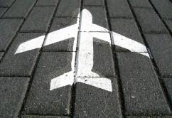 dibujo avión suelo