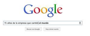 Google: 15 años de la empresa que cambió el mundo