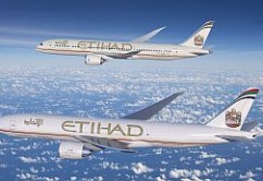 Etihad Airways Boeing 777F y B787
