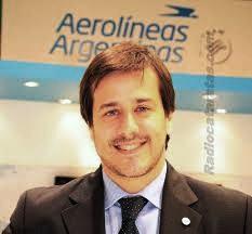 Recalde recibió al pasajero 9 millones de Aerolíneas