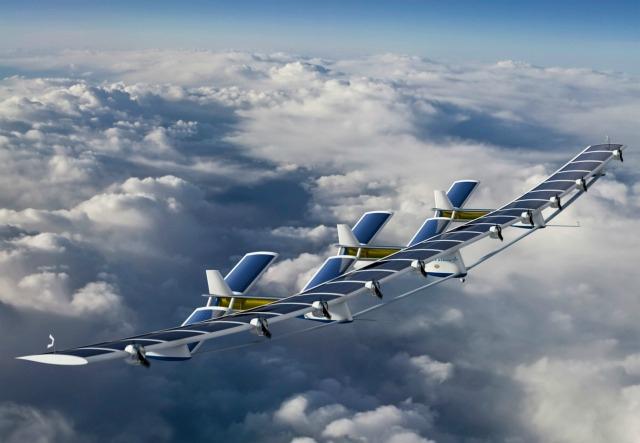 Avión UAV Boeing SolarEagle alimentado por energía solar volará por cinco años seguidos