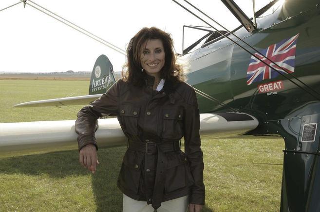La aviadora con alma 'vintage'