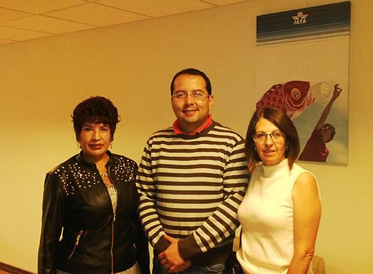 El primer boliviano en recibir el IATA Aviation Studies Diploma