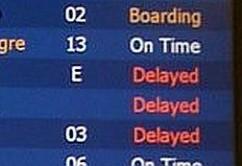 atraso vuelos calendario horario