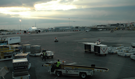 Incendio en el aeropuerto de Nueva York
