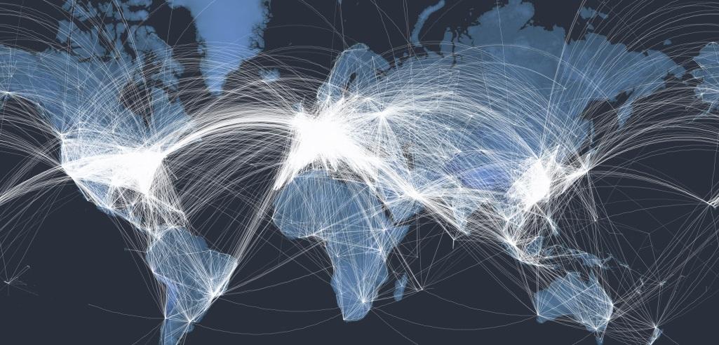 Un Mapa Interactivo Con Todos Los Vuelos Comerciales Del Mundo Alnnews