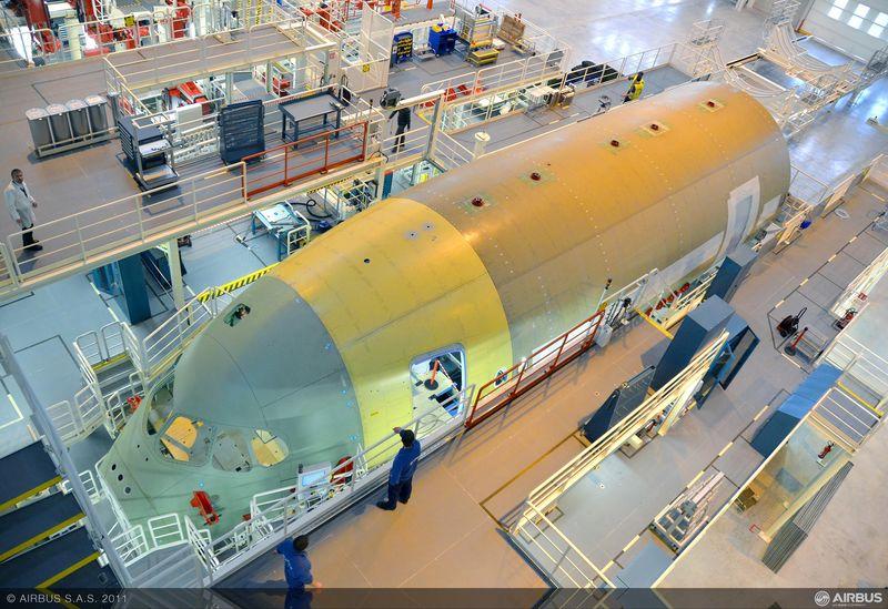 El software LMS de Siemens es utilizado para  el análisis estructural de las aeronaves Airbus A350 XWB