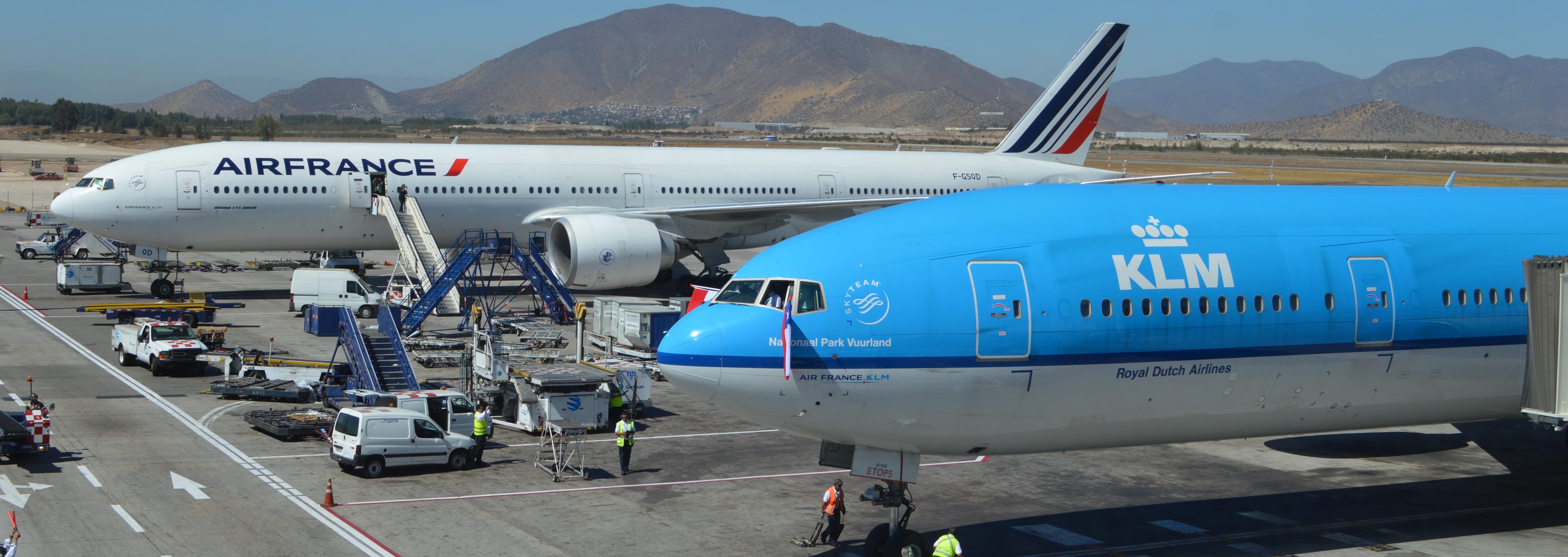 Fuerte baja en resultados trimestrales de Air France-KLM por huelgas