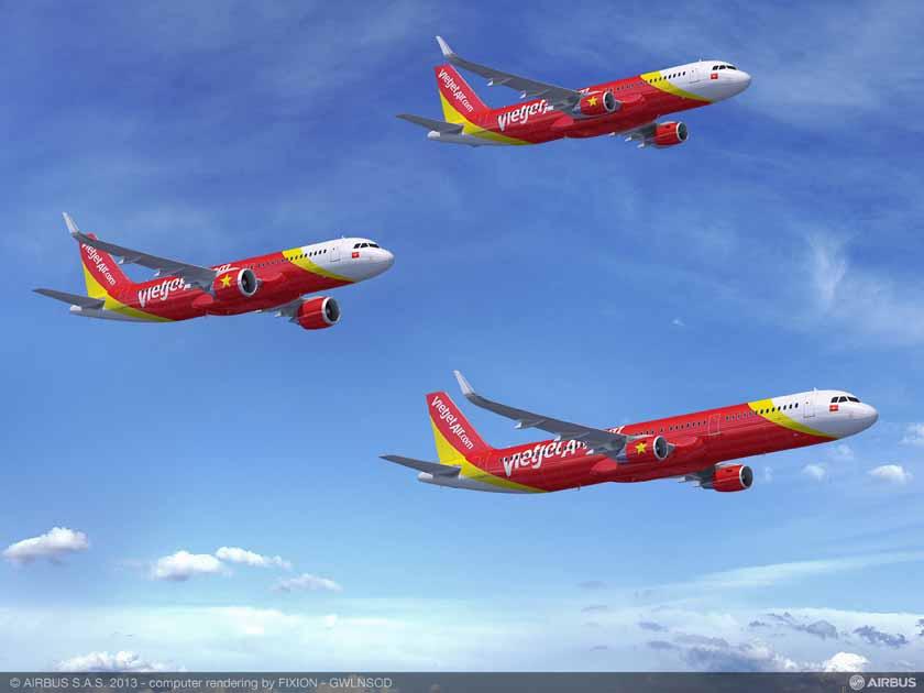 VietJetAir formaliza un importante pedido de la Familia A320