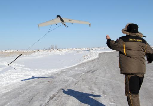 Por primera vez un «drone» graba a los atletas olímpicos en Sochi