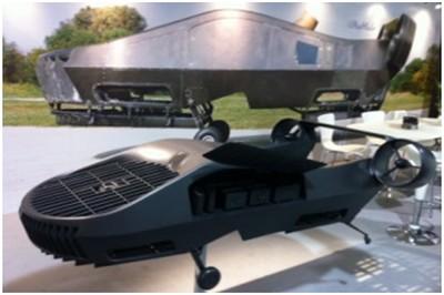 La aeronáutica Israelí desarrolla ambulancias drones