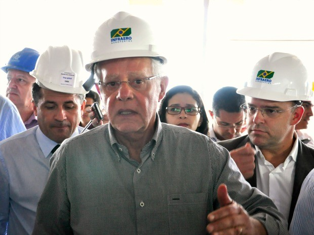 Ministro deve vistoriar aeroporto da Copa em Cuiabá nesta segunda