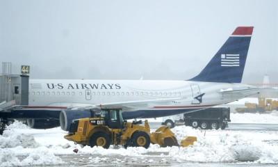 Cancelados más de mil vuelos por nevada en centro de EU