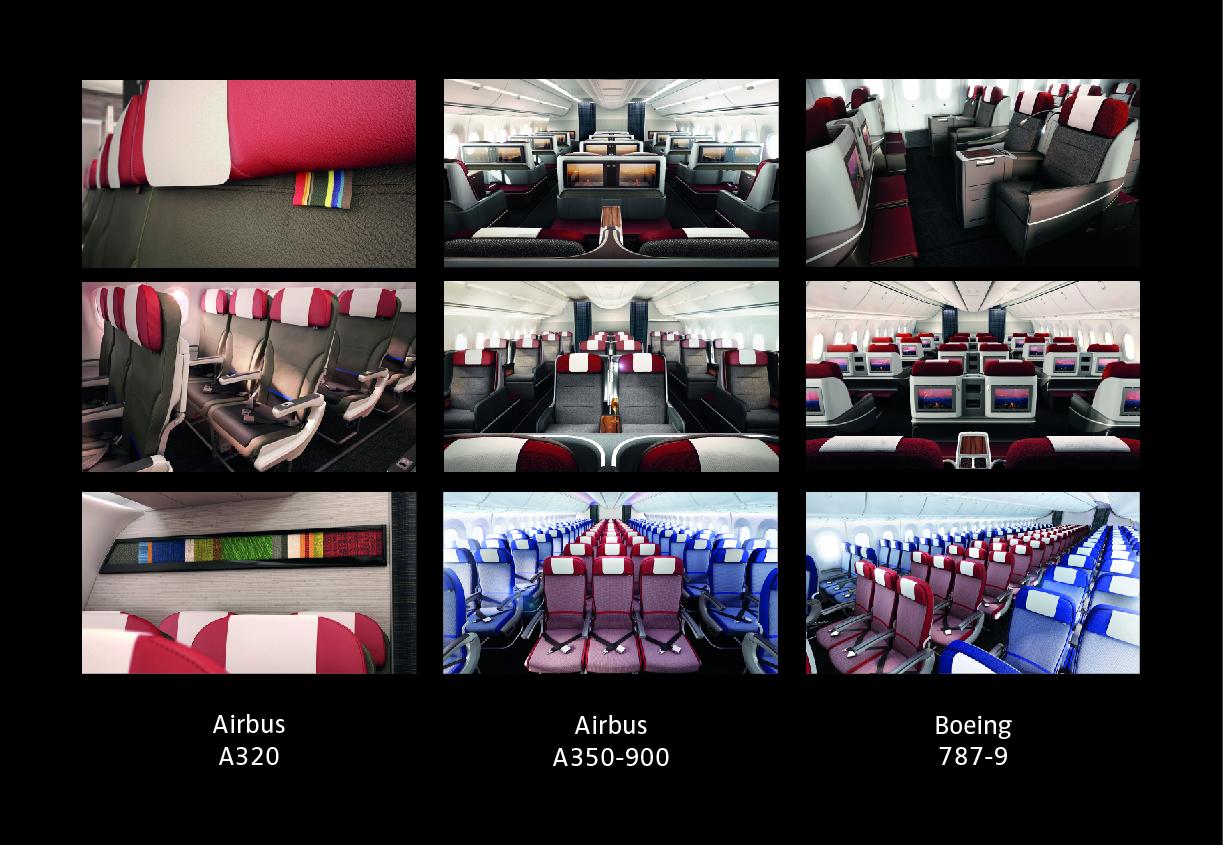 LAN y TAM revelan nuevo diseño para sus cabinas de clase mundial