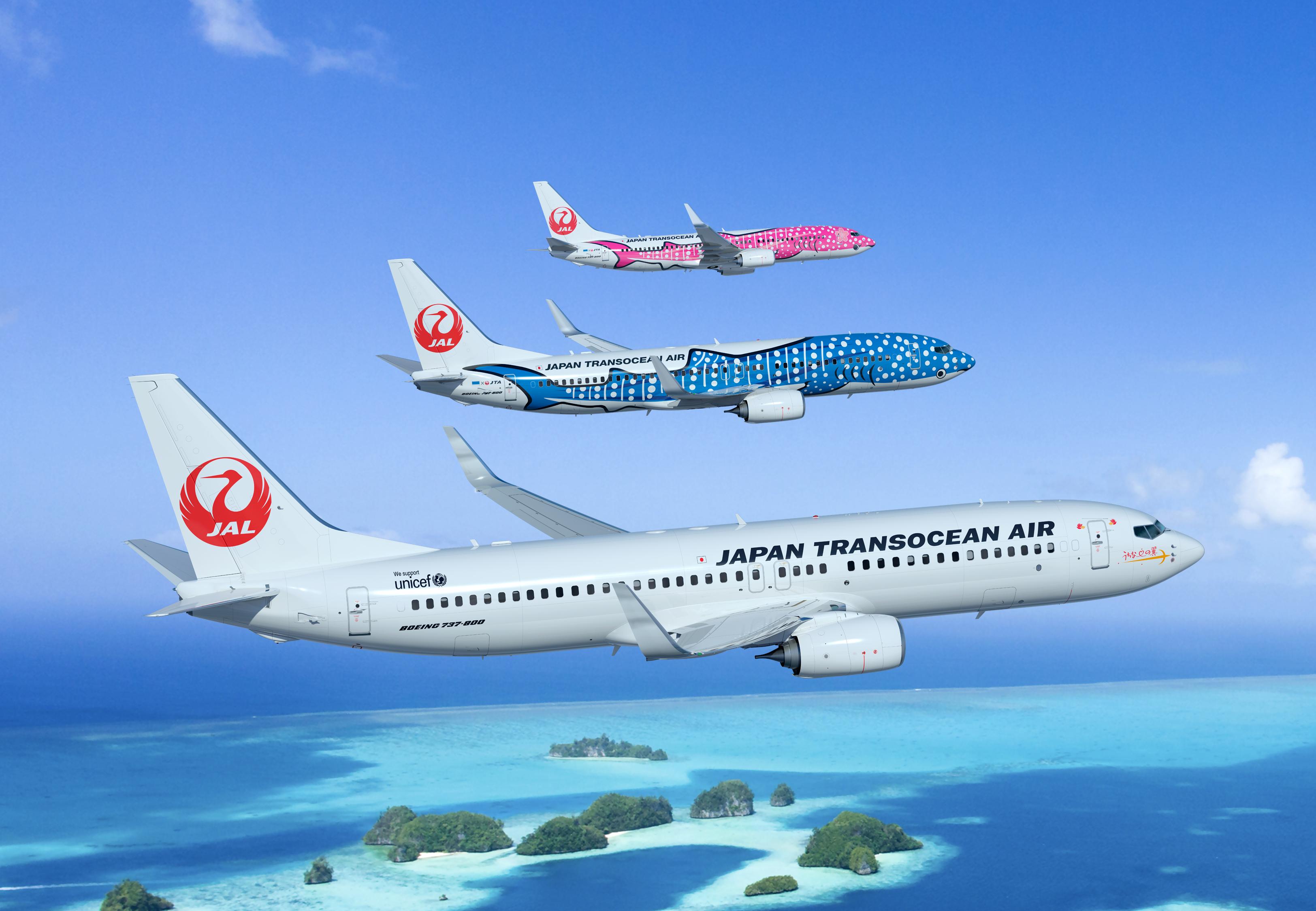 Japan Transocean Air ordena 12 unidades del Boeing 737 Nueva Generación