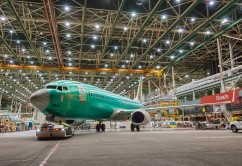 1st 737 Built at 42-per-month Rate Rolls out of Renton factory