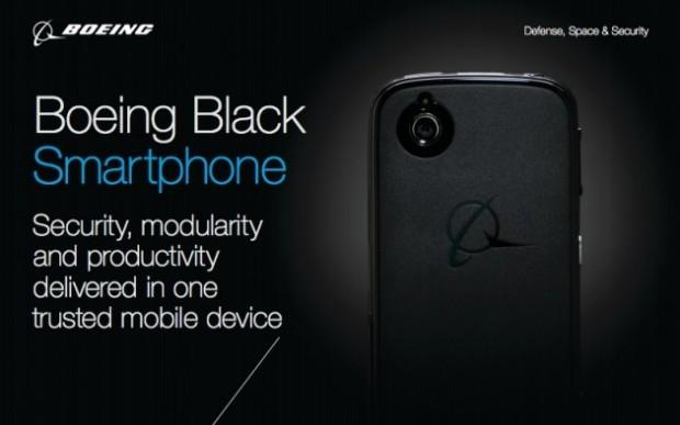 Boeing Black smartphone, de los aviones a los teléfonos