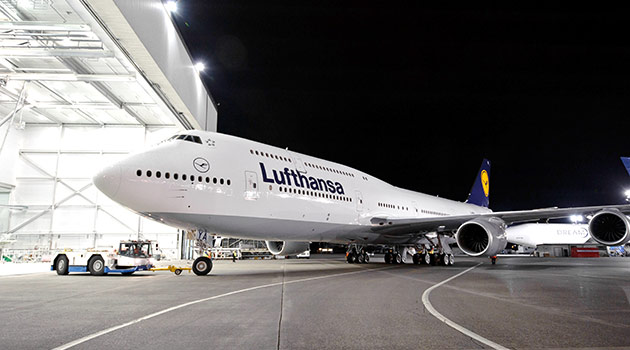 Lufthansa customers can earn miles overnight