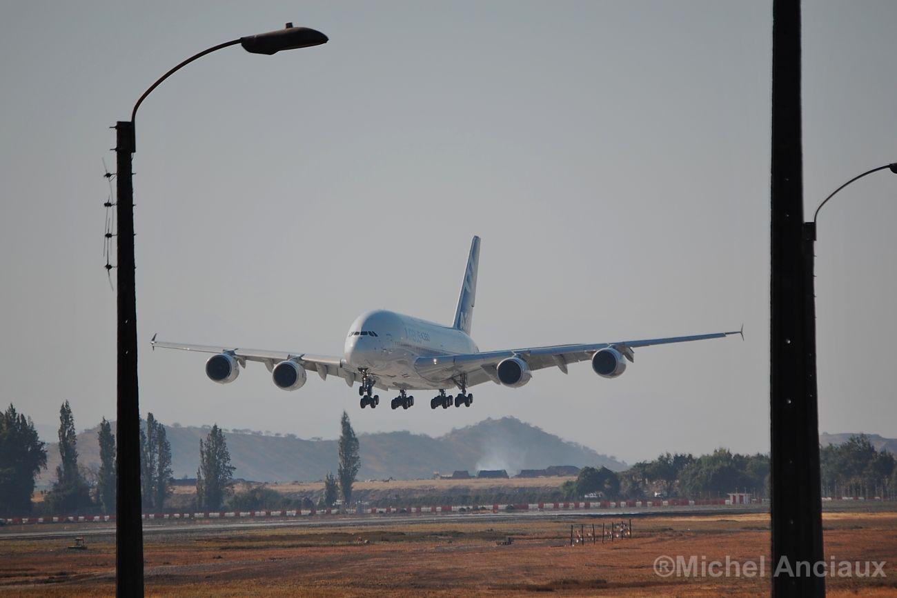 Querétaro será aeropuerto alterno del avión Airbus 380-800