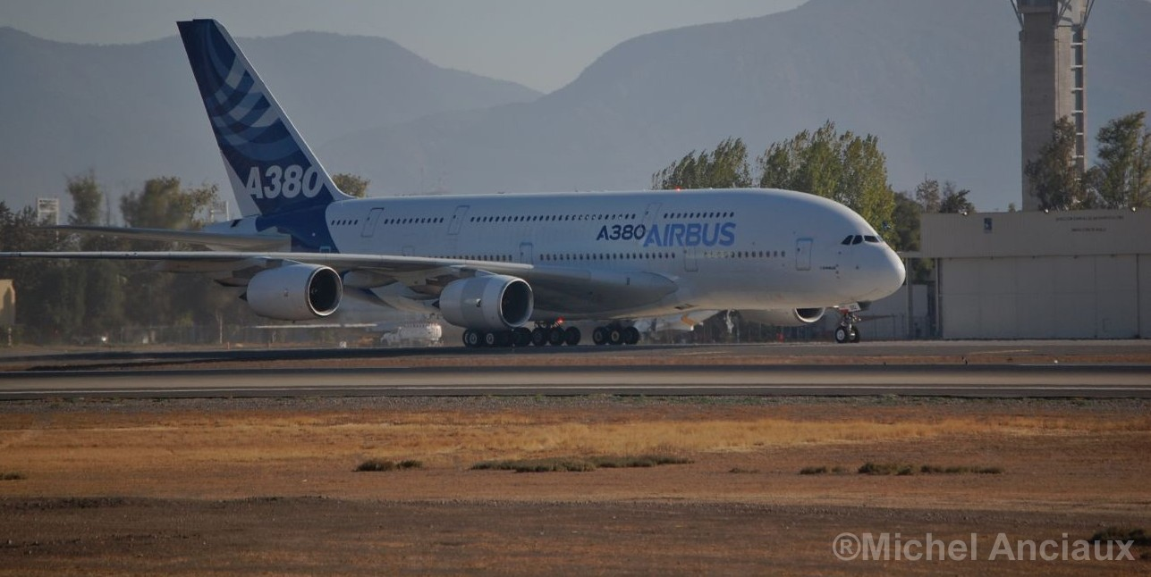 Aterrizará en México el avión más grande del mundo