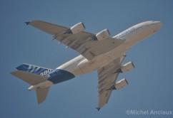 A380 avion abajo