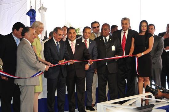 RR.DD. Medina  inaugura  centros Control de Tránsito Aéreo del IDAC
