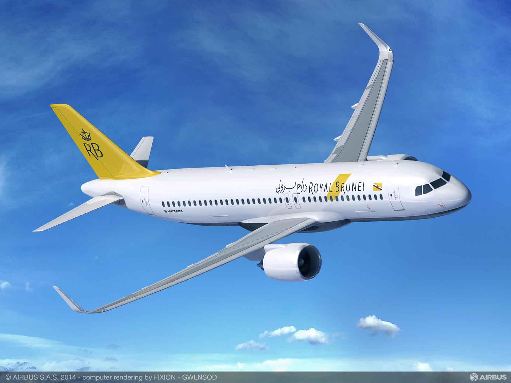 Royal Brunei Airlines elige el A320neo